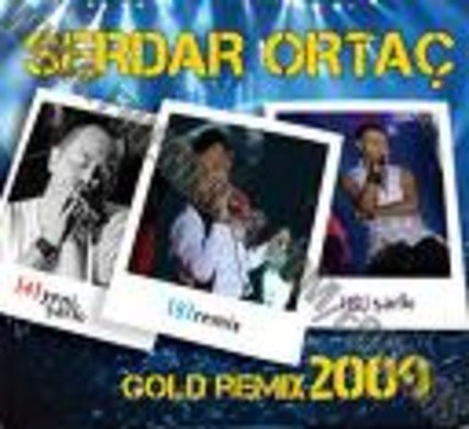 Serdar Ortaç Gold Remix 2009-Turkse CD's